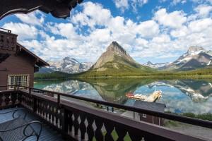 Many Glacier Hotel National Park Mt Lodges