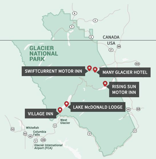 Glacier National Park Lodges Lodging Amp Accommodations