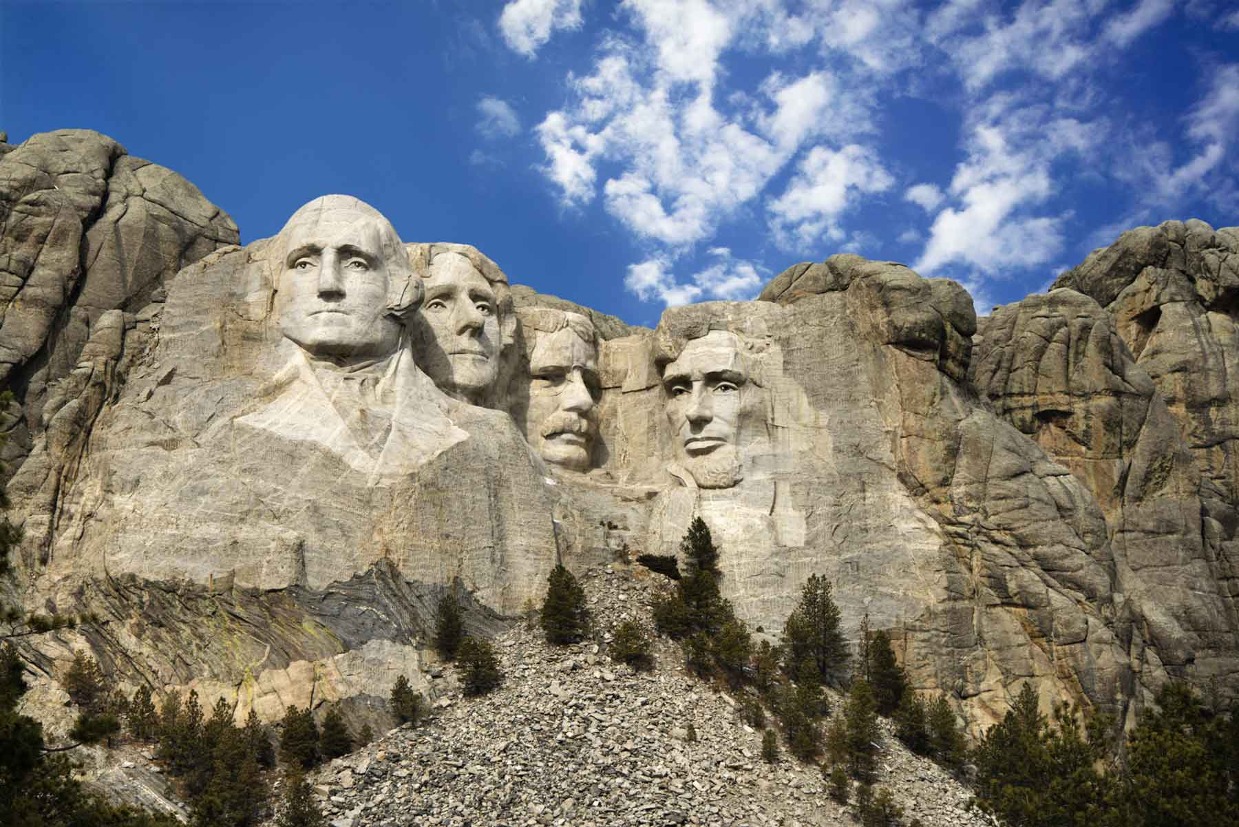Mount Rushmore National Memorial Scenic