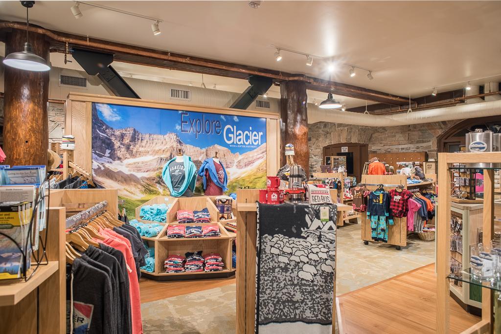 Many Glacier Hotel Giftshop