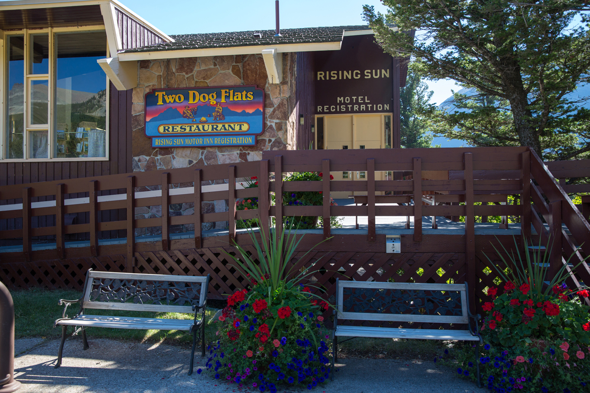 Rising Sun Motor Inn and Cabins exterior