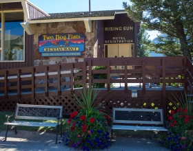 Rising Sun Motor Inn and Cabins exterior