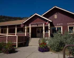 Rising Sun Motor Inn and Cabins gift store