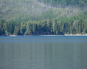 View of Lake McDonald from Village Inn at Apgar