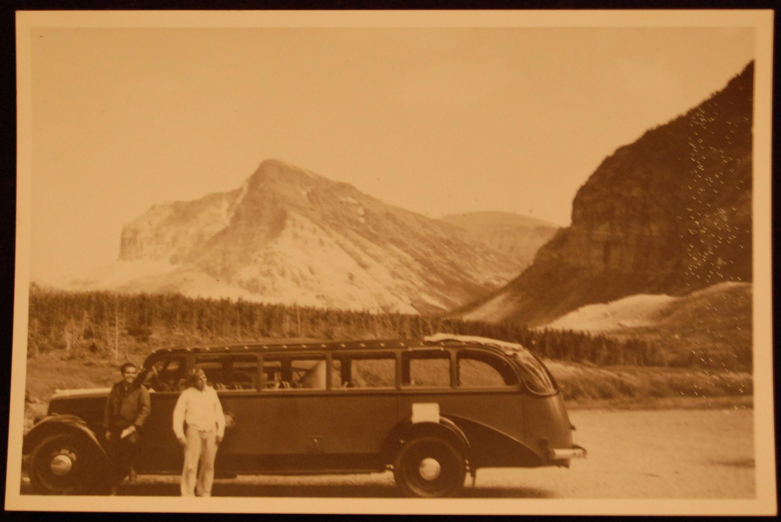 Red Bus circa 1949