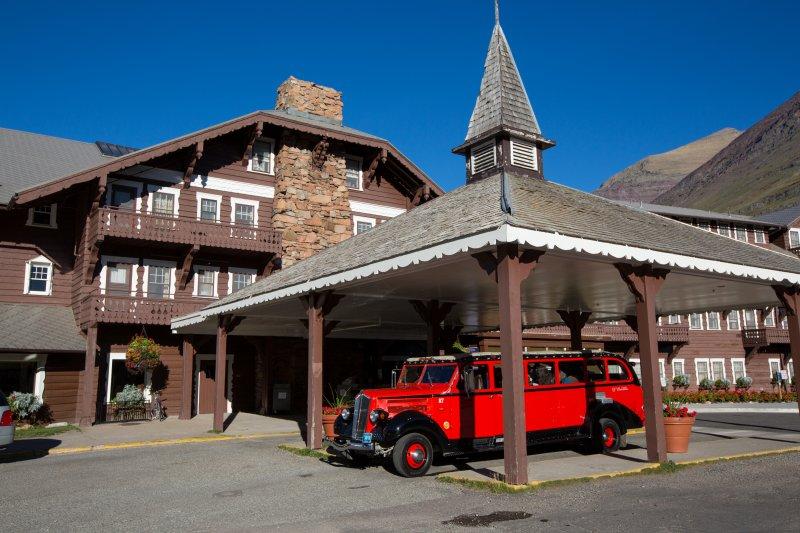 Many Glacier Hotel Exterior